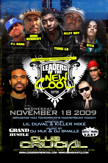 The Leaders Of The New Cool (Atlanta - Front) #1